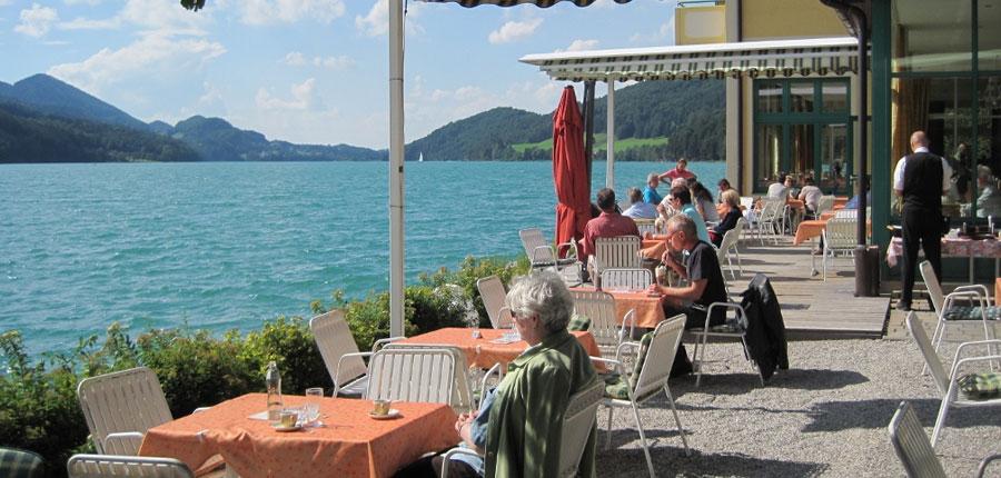 Hotel Seerose, Fuschl, Salzkammergut, Austria - Terrace on the lake.jpg